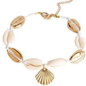 Seashell Ankle Bracelet NWOT BOHO Jewlery